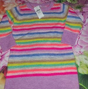 Nwt gap sweater dress 12-18 months new